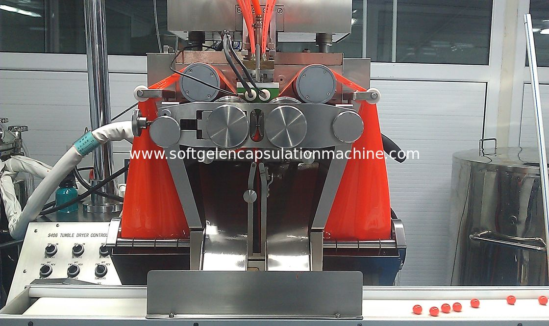 Scale Softgel Encapsulation Machine , Softgel Liquid Filling Machine S406