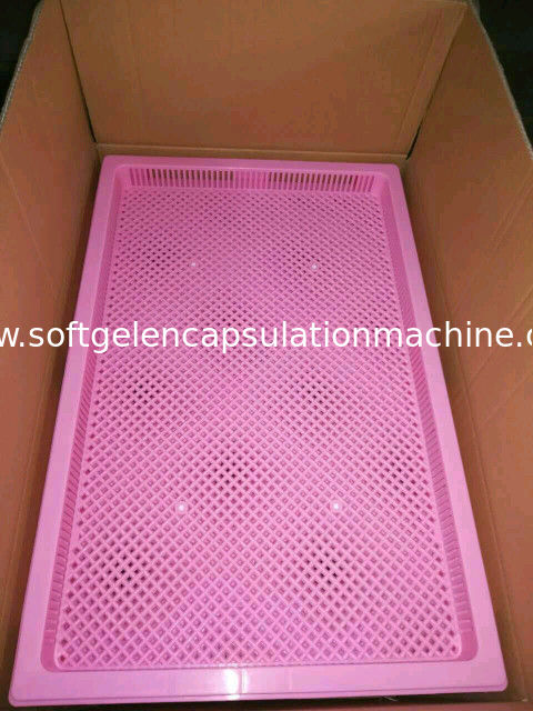 Food Grade Metal / Plastic Drying Trays For Drying Capsule Candy