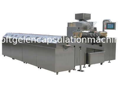 Full Automatic 7 kw Pharmaceutical Soft Capsule Making Machine With Switch / Button Control