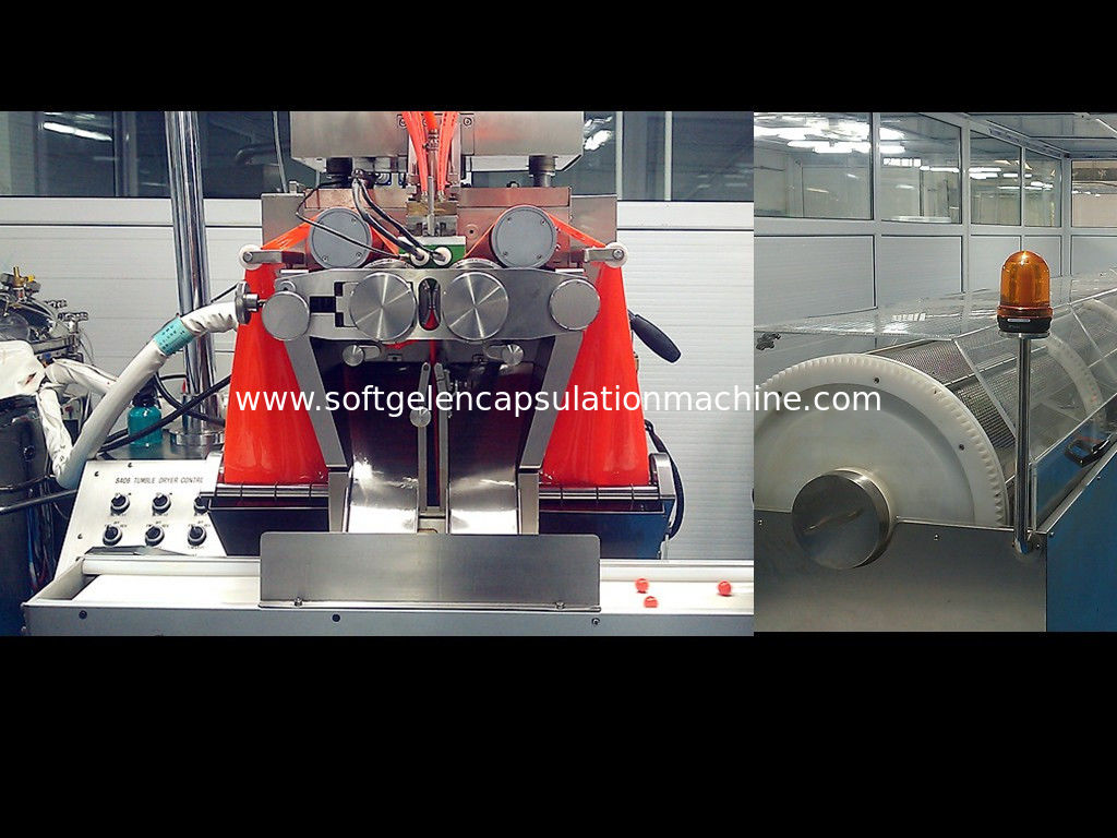 PLC + HMI Switch Automatic Pharma Packaging Machinery Softgel / Cosmetics