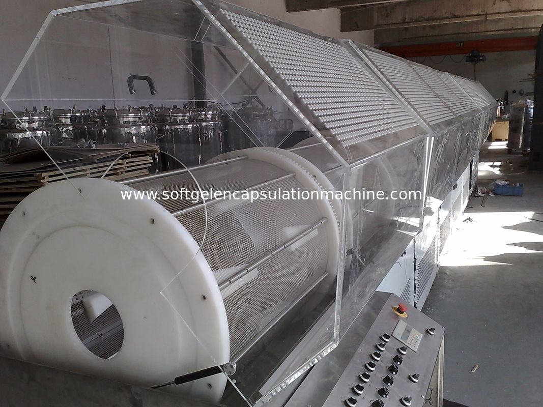R & D Pharmaceutical Machinery , Softgel Capsule Machine For Washer / Cosmetic